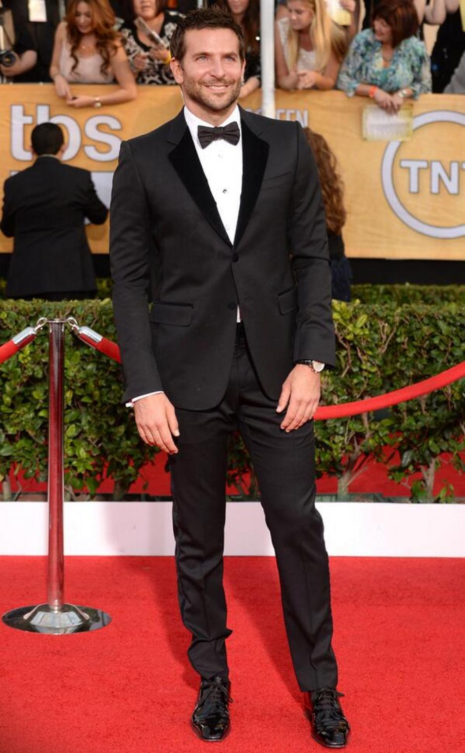 """Bradley Cooper actuó en """"American Hustle"""", cinta nominada a mejor reparto."""