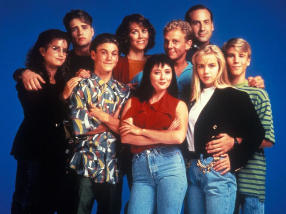 La serie Beverly Hills 90210 fue famosa en la época de los 90. (Foto: closermag.fr)