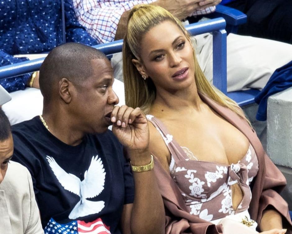 Beyoncé lució muy atractiva al lado de su esposo. (Foto: usmagazine.com)