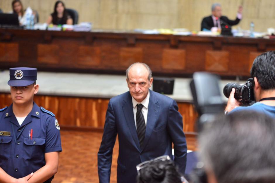 El banquero Flavio Montenegro, exgerente general de banco G&T, también se abstuvo de declarar. (Foto: Jesús Alfonso/Soy502)