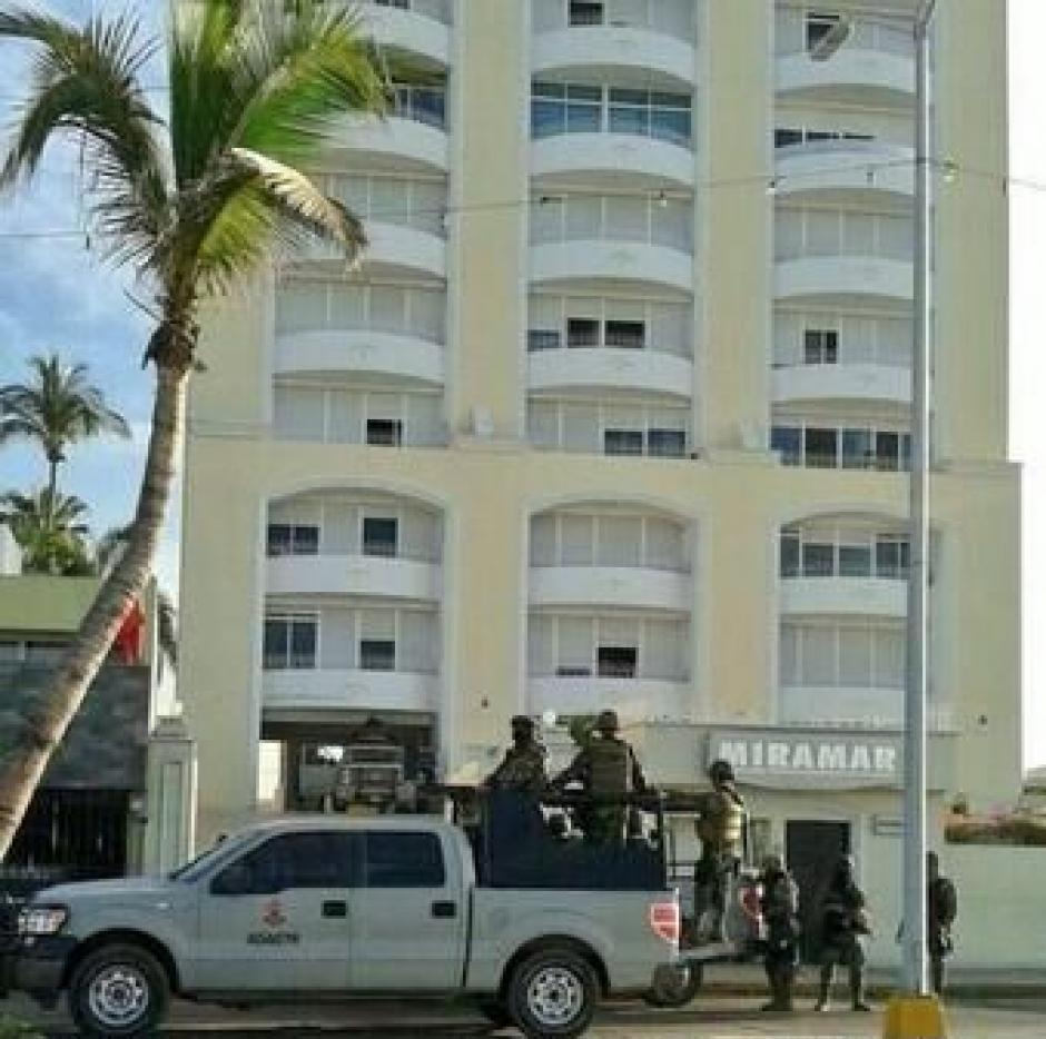 """Estas son las imágenes del hotel en Mazatlán, Sinalo donde fue capturado """"El Chapo"""" Guzmán."""