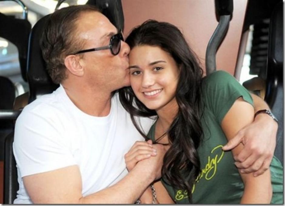 Jean-Claude Van Damme es un padre orgulloso. (Foto: Fotograma)