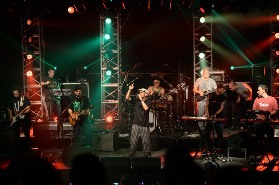 La banda es pionera del reggae en español. (Foto: Esteban Biba/Soy502)