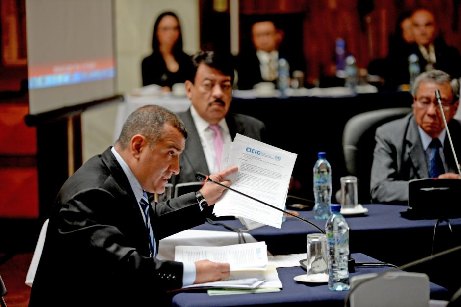Jorge Luis Donado negó los señalamientos de la CICIG. (Foto: Esteban Biba/Soy502)