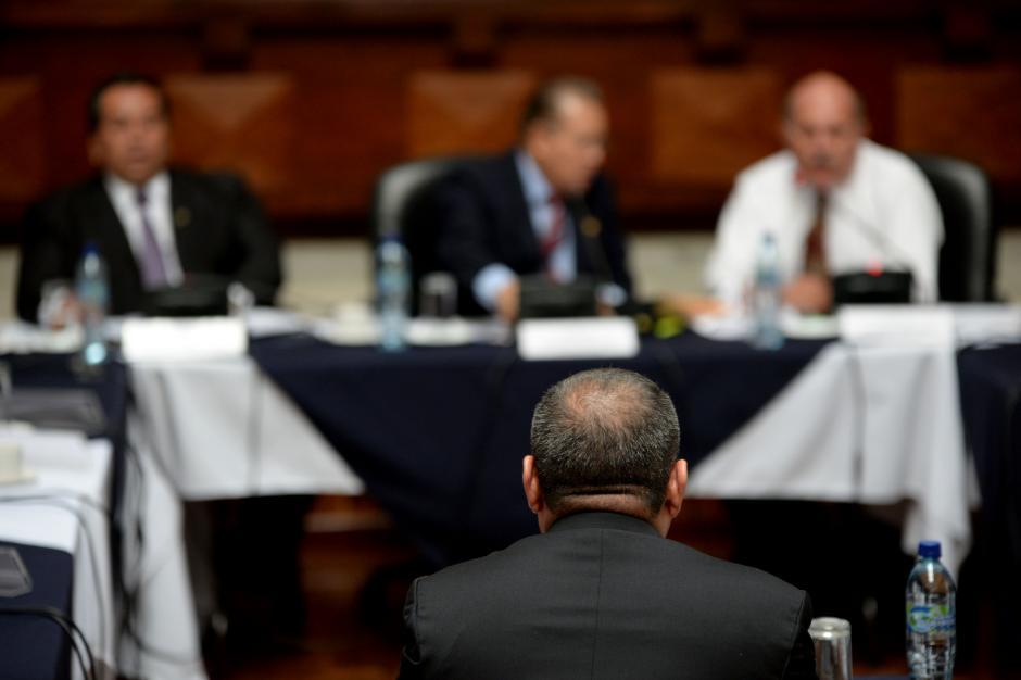 Los aspirantes tienen 20 minutos para dar sus razones para dirigir el Ministerio Público. (Foto: Esteban Biba/Soy502)