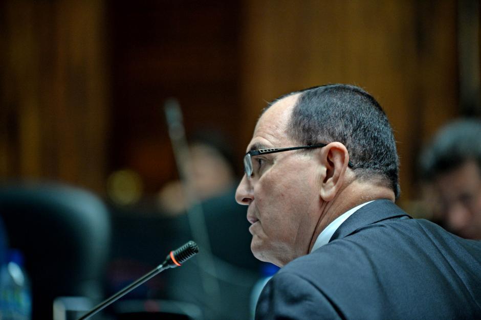 Julio Rivera Clavería expusó un plan de cuentro ejes para dirigir el Ministerio Público. (Foto: Esteban Biba/Soy502)