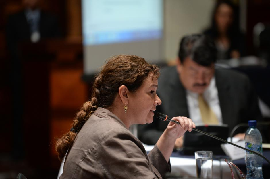 Claudia Paz y Paz expusó los avances en el Ministerio Público, como mejoras en atención a la víctima. (Foto: Esteban Biba/Soy502)