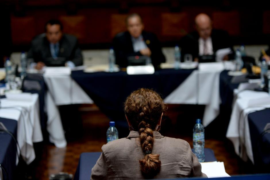 La fiscal Claudia Paz y Paz aboga por su continuidad en el cargo. (Foto: Esteban Biba/Soy502)