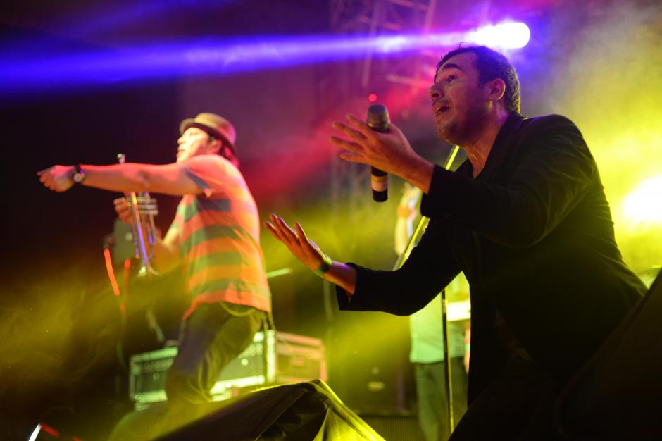 Los Malacates dieron un toque de Ska al Cumbia Fest. (Foto: Esteban Biba/Soy502)
