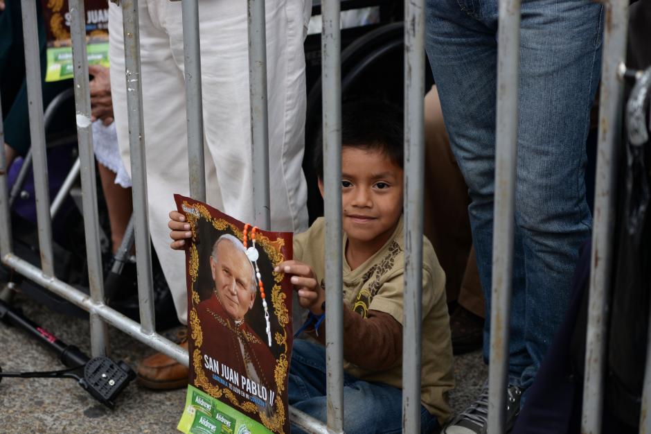 El Papa Juan Pablo II ha sido uno de los líderes más carismáticos de su tiempo. (Foto: Esteban Biba/Soy502)