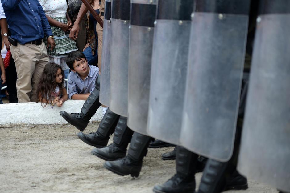 Defensa tiene 3 mil 914 articulos antidisturbios. (Foto: Archivo/Soy502)