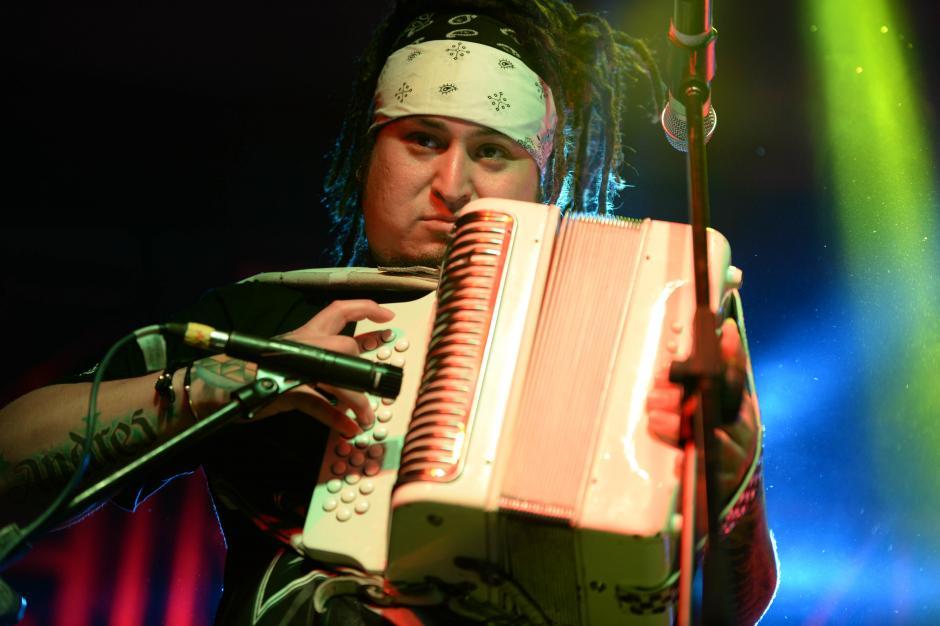 La banda mexicana el Gran Silencio cerró el Cumbia Fest. (Foto: Esteban Biba/Soy502)