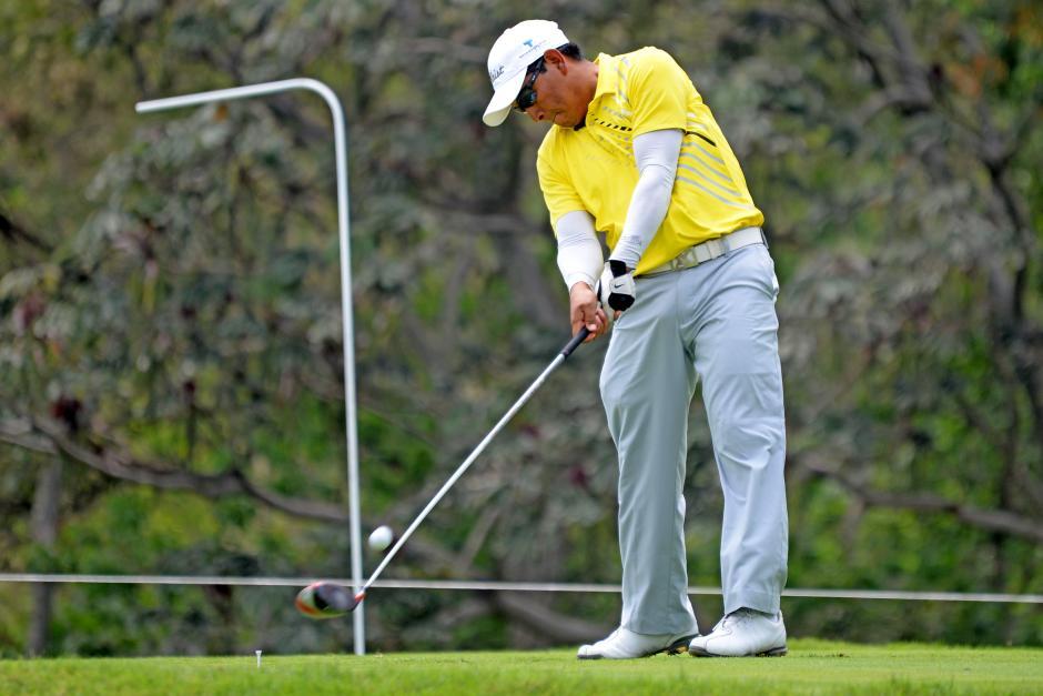 Los golfistas nacionales y extranjeros disputaron este lunes la precalificación para el NEC PGA Guatemala. (Foto: Esteban Biba/Soy502)