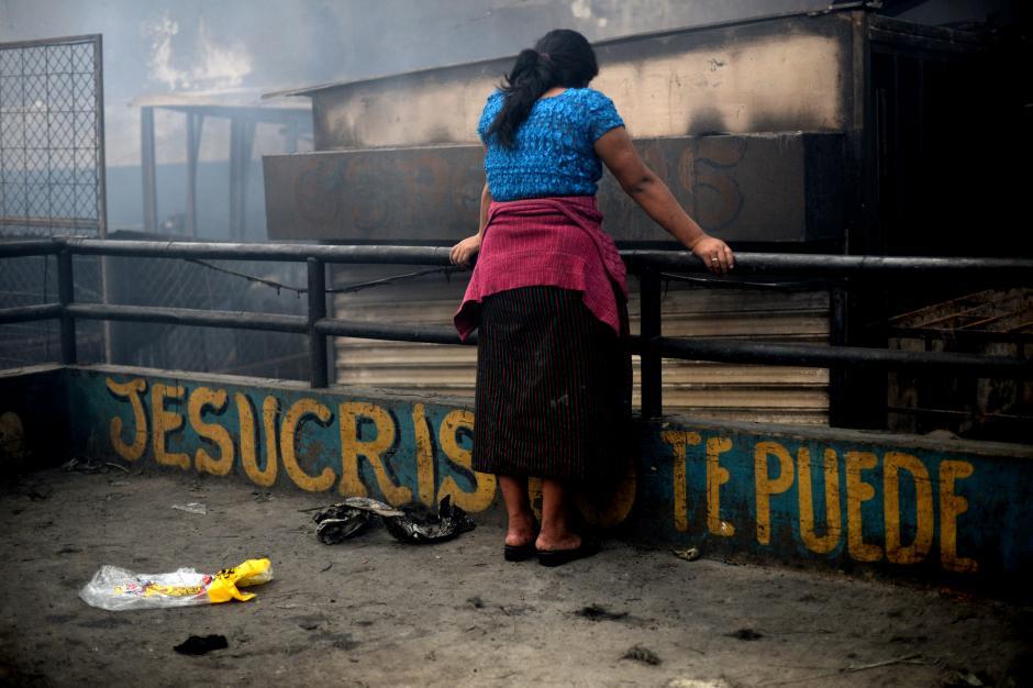 Los inquilinos de La Terminal buscan la manera de volver a trabajar lo antes posible. (Foto: Esteban Biba/Soy502)