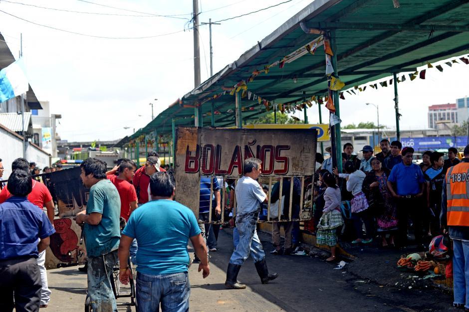 Algunos inquilinos decidieron mudar su negocio a otro sector. (Foto: Esteban Biba/Soy502)