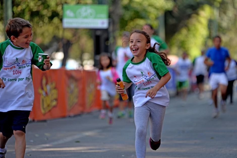 Los niños fueron quienes más se divirtieron. (Foto: Esteban Biba/Soy502)