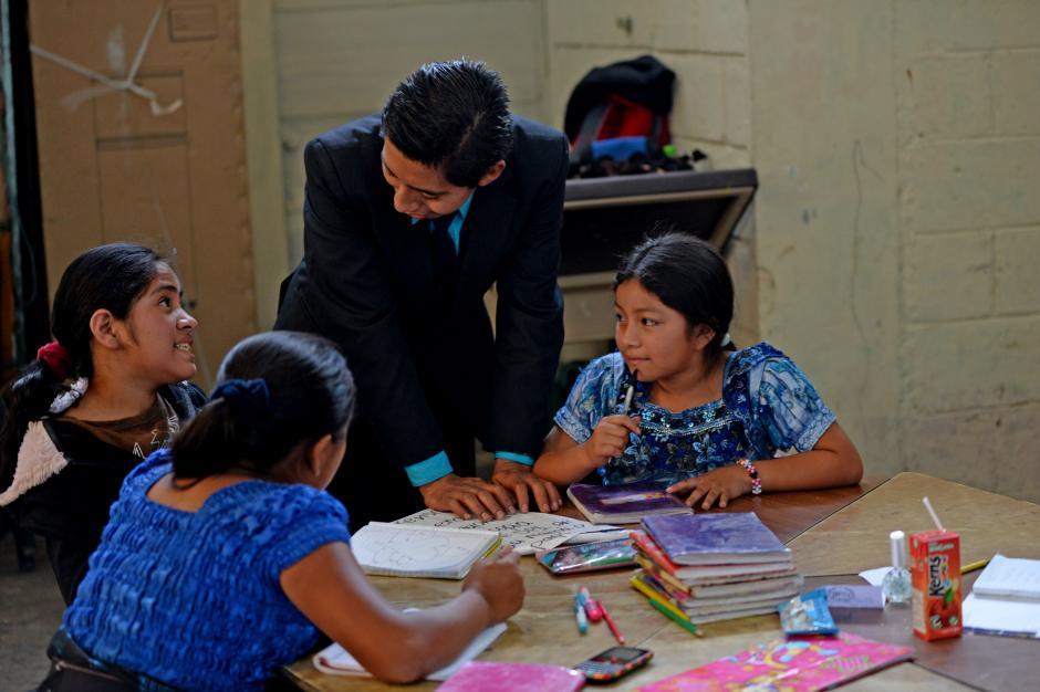 En el PENNAT se imparten clases de primaria y básicos. (Foto: Esteban Biba/Soy502)
