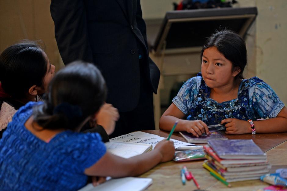 Todos y todas las niñas son trabajadoras, por eso el programa tiene varios horarios. (Foto: Esteban Biba/Soy502)