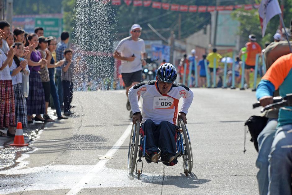 No importan las adversidades, Cobán recibe a todos los amantes del atletismo. (Foto: Soy502)