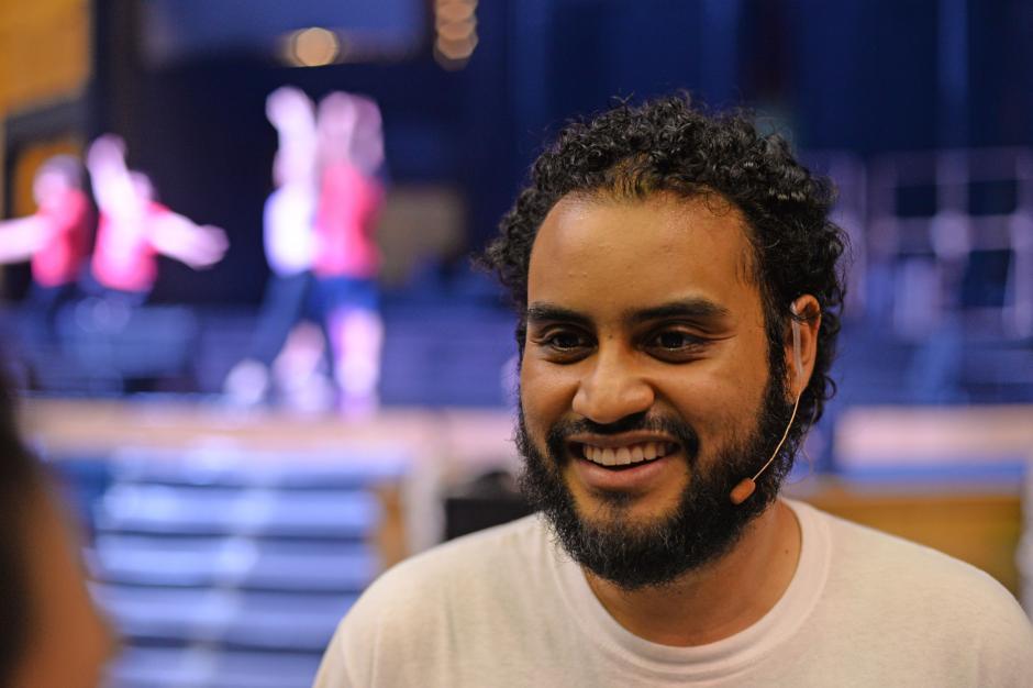 El actor Edwin Fausto interpretará por tercera vez el papel de Jésus. (Foto: Esteban Biba/Soy502)