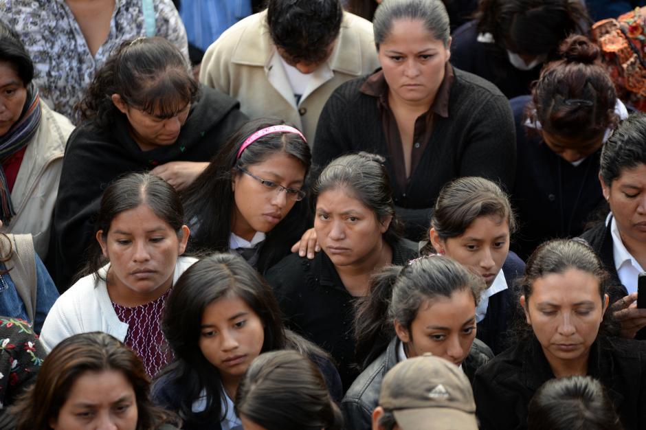 Los padres y madres se mostraron preocupados por la situación. (Foto: Esteban Biba/Soy502)