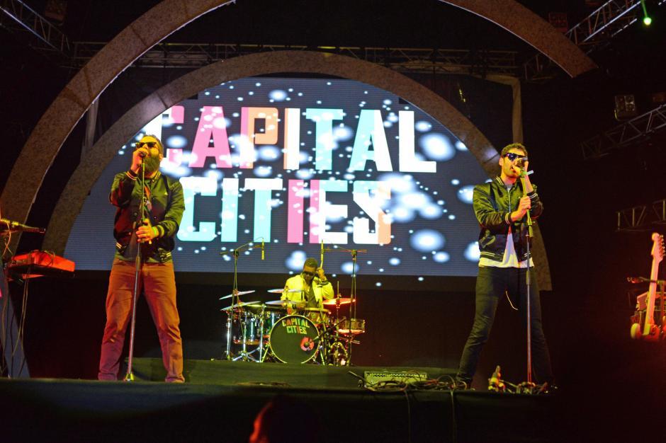 Capital Cities fue uno de los grupos más esperados del primer día del festival #EMF2014. (Foto: Esteban Biba/Soy502)