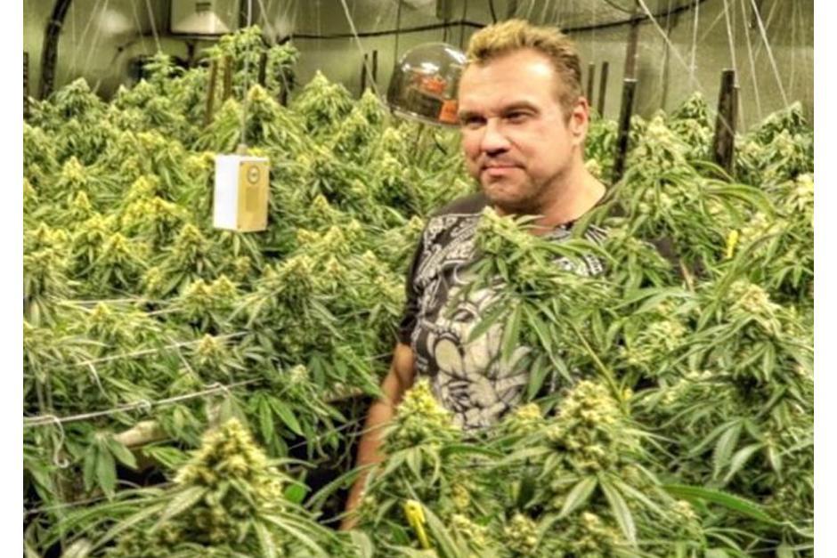 """Michael Straumietis es conocido como """"Big Mike"""". (Foto: Instagram/marijuanadon)"""