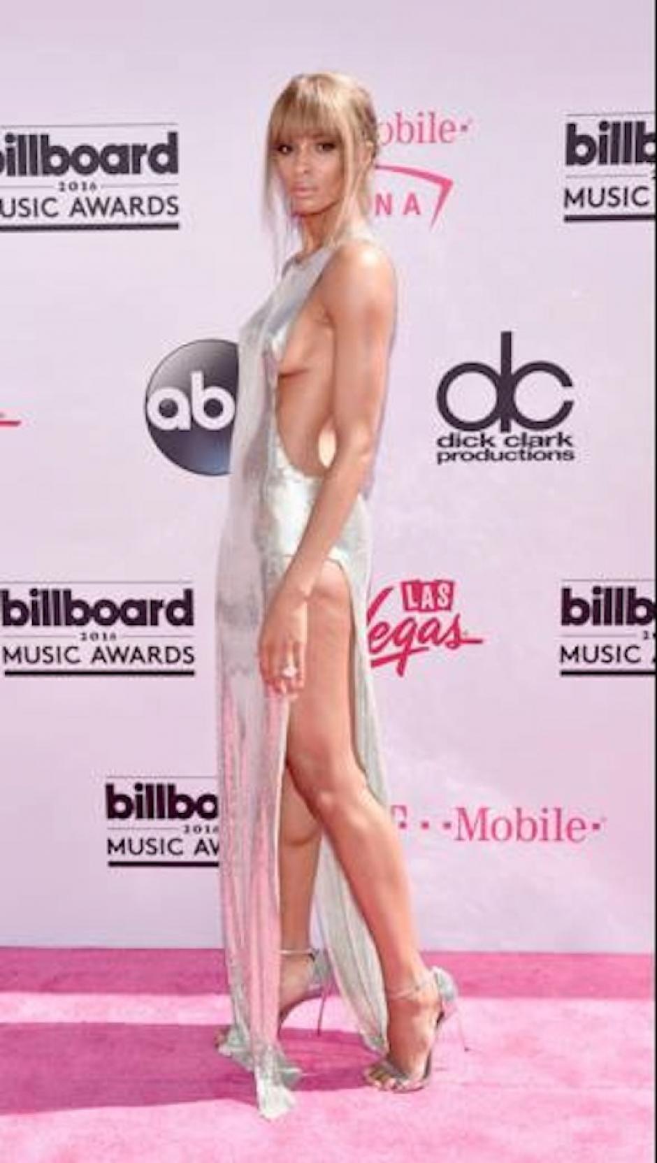 El vestido no dejó nada a la imaginación. (Foto: Gilbert Flores/Broadimage)