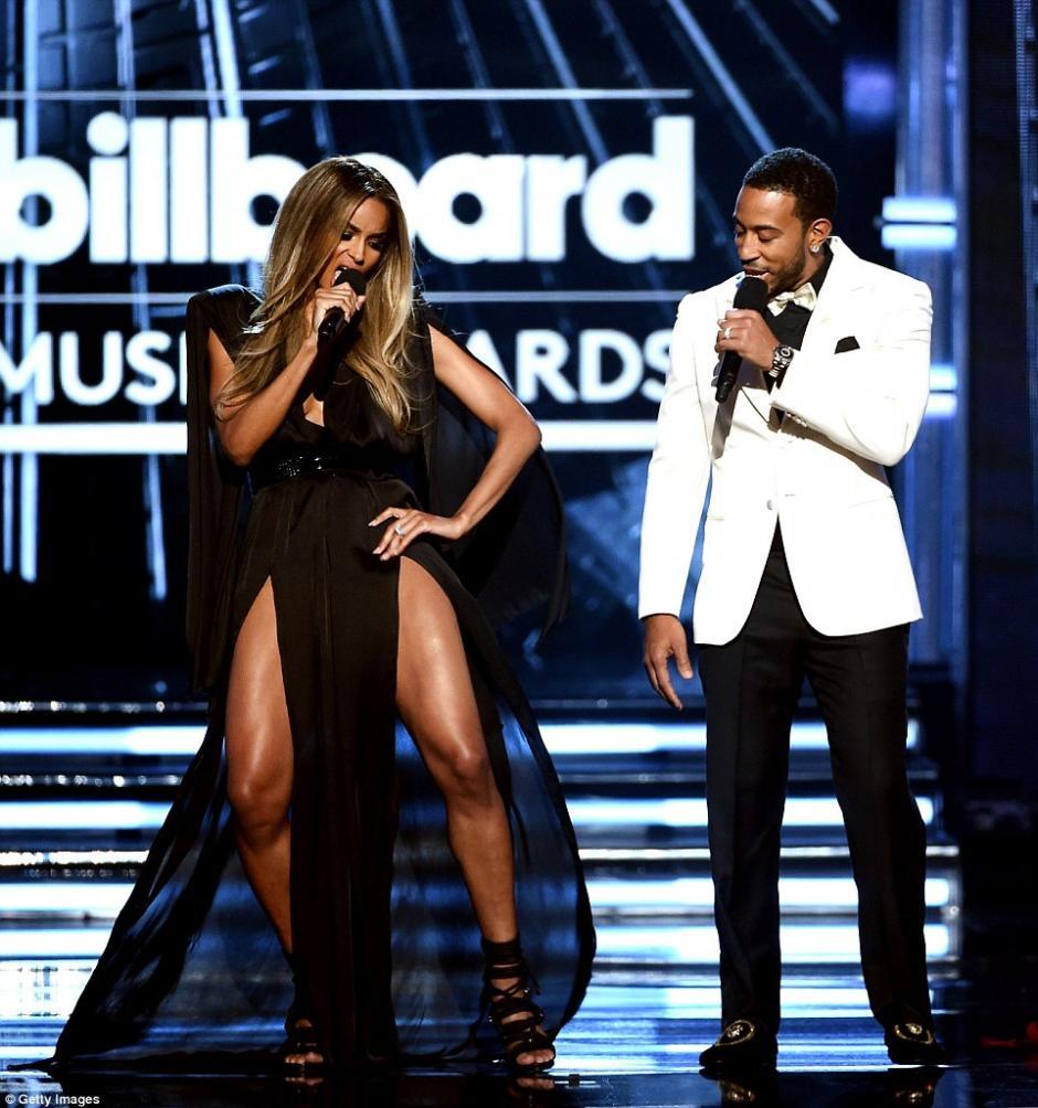 Ciara no solo robó suspiros en la gala. (Foto: Getty Images)