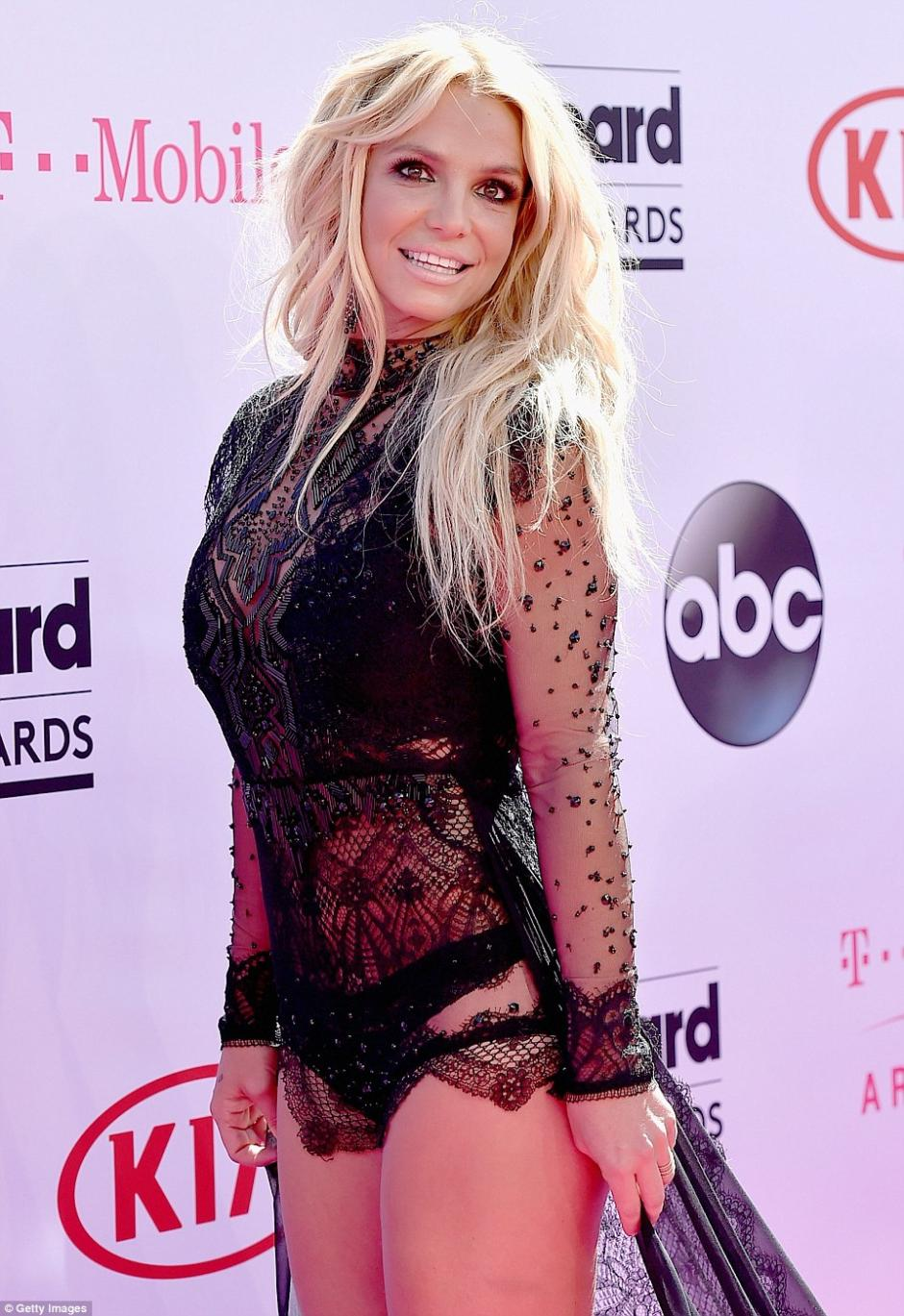 Spears sonrió para las cámaras. (Foto: Getty Images)