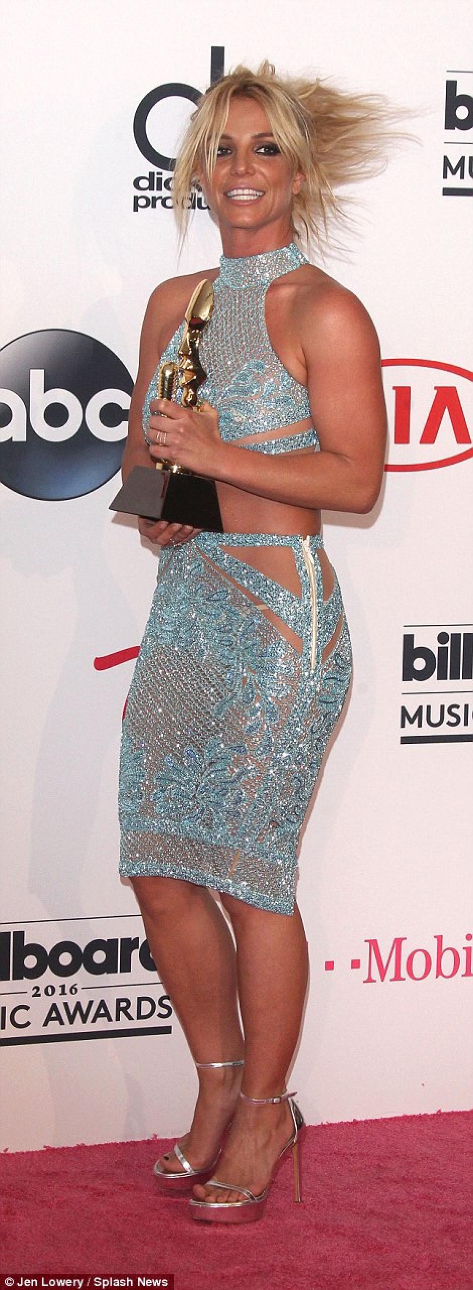 "La artista recibió el ""Millennium Award"". (Jen Lowery/Splash News)"