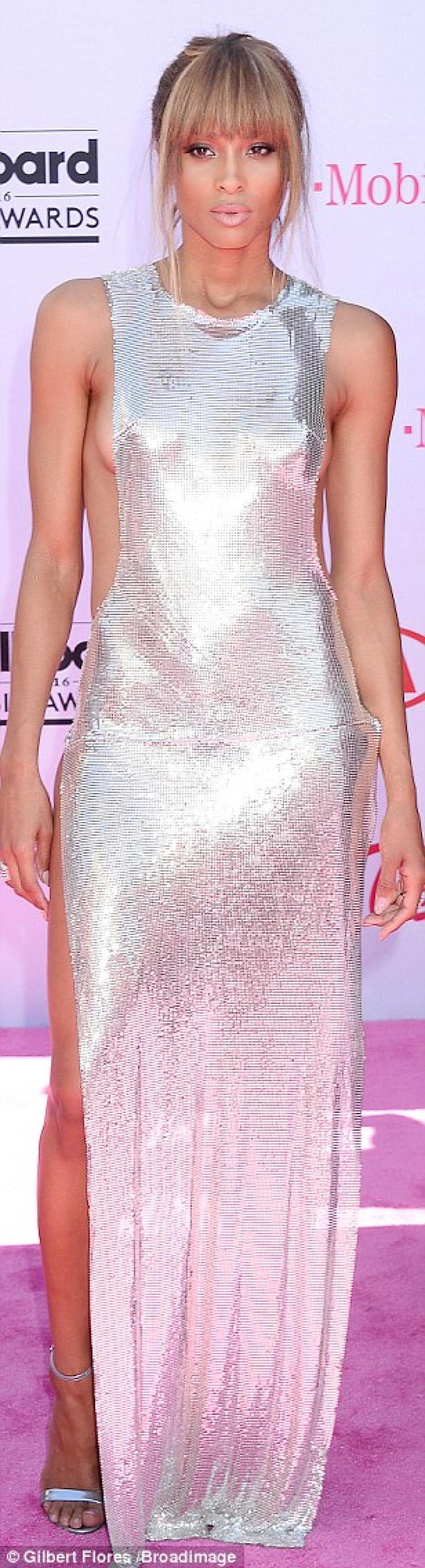 Ciara simpatiza por su carisma. (Foto: Daily Mail)
