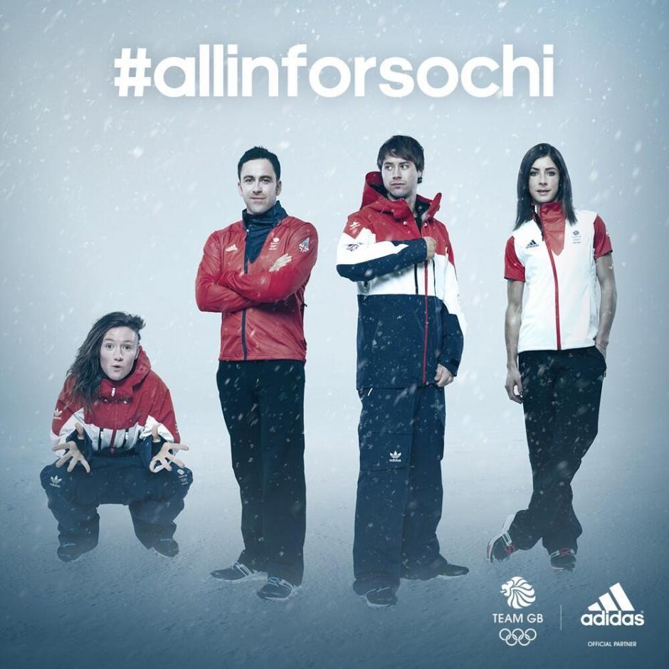 Los representantes de la delegación de Gran Bretaña vestirán diseños de la marca Adidas. Foto Adidas
