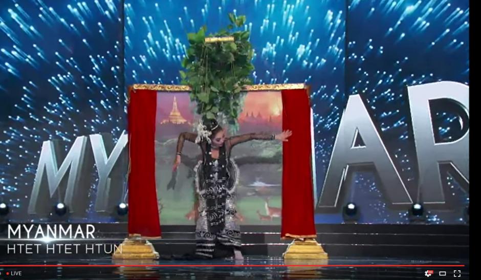 Birmania llevó un misterioso escenario consigo. (Foto: cacaptura de pantalla)