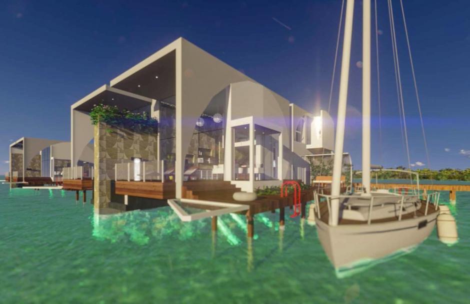 El complejo va a funcionar completamente con energía renovable. (Foto: sanpedrosun.com)