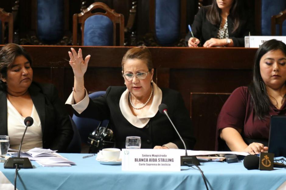 La magistrada negó haber pedido la reunión con el juez Ruano. (Foto: Archivo/Soy502)
