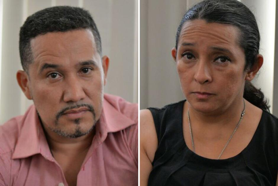 José Estuardo Blanco Aguilar y Claudia Bolaños eran empleados cercanos al expresidente del Congreso Pedro Muadi. (Foto: Wilder López/Soy502)