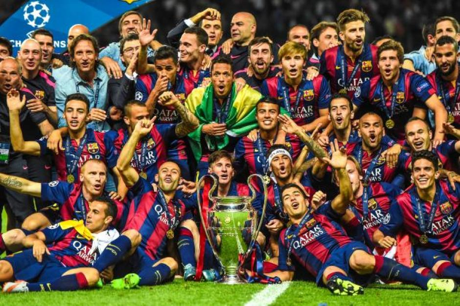 Barcelona es el último equipo en coronarse campeón de la Champions, tras derrotar a Juventus