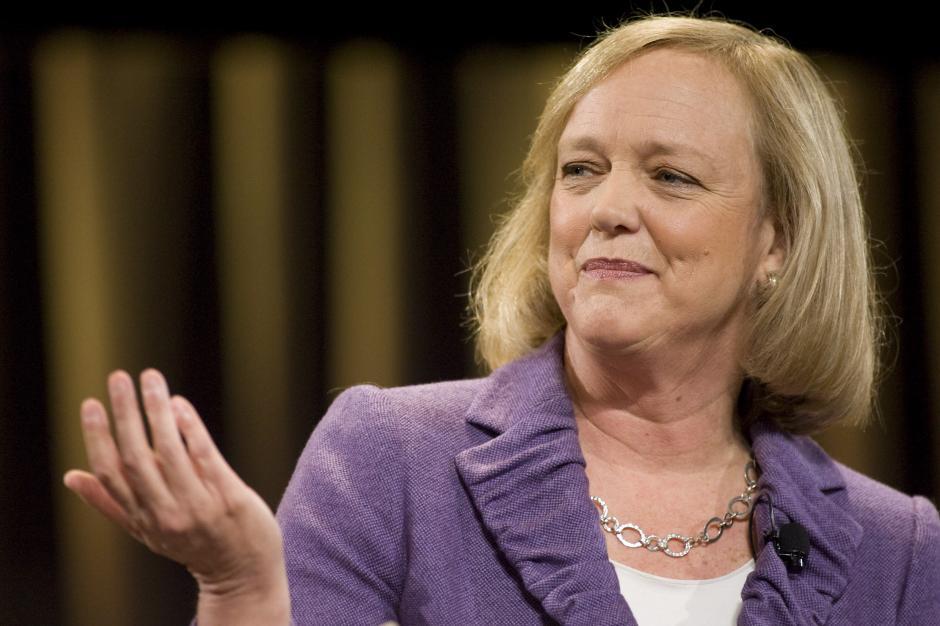 Meg Whitman es una empresaria y alta directiva estadounidense que está al frente de la empresa Hewlett-Packard. (Foto: bloomberg.com)