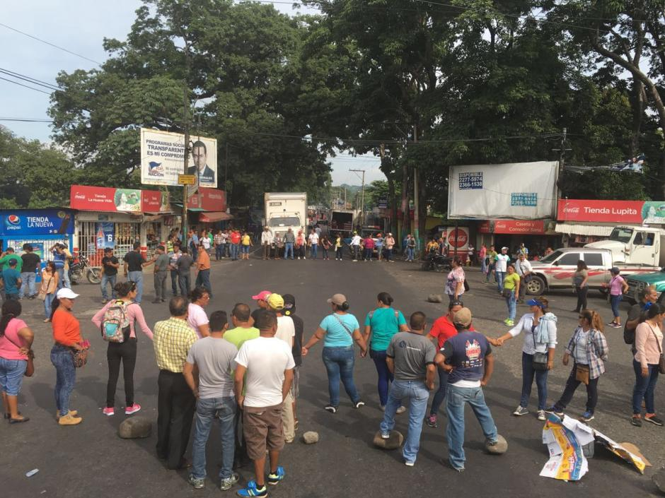 Provial reporta más de ocho puntos del país bloqueados. (Foto: @DTransitoPNC)