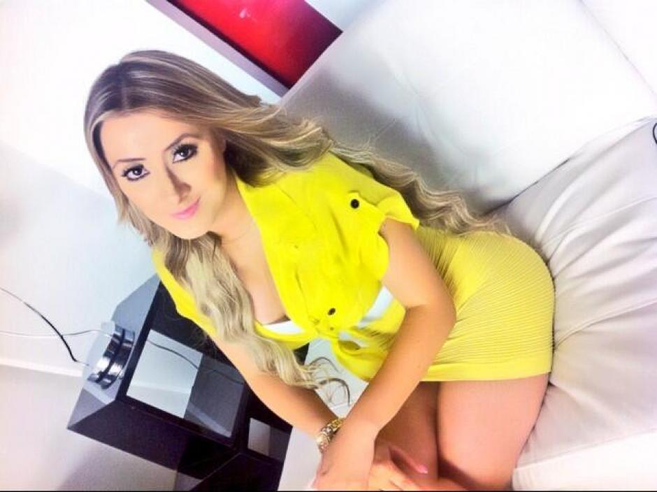 Presentadora de TV Panam - sexomodacom