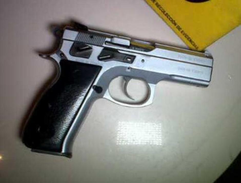 Esta sería el arma utilizada por el sindicado Lester Santos para darle muerte al Chef Humberto. (Foto: Archivo/Soy502)