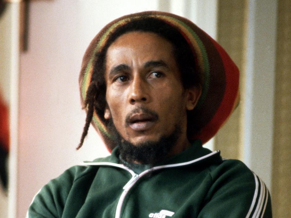 Robert Nesta Marley profesó el rastafarismo en su música y filosofía de vida
