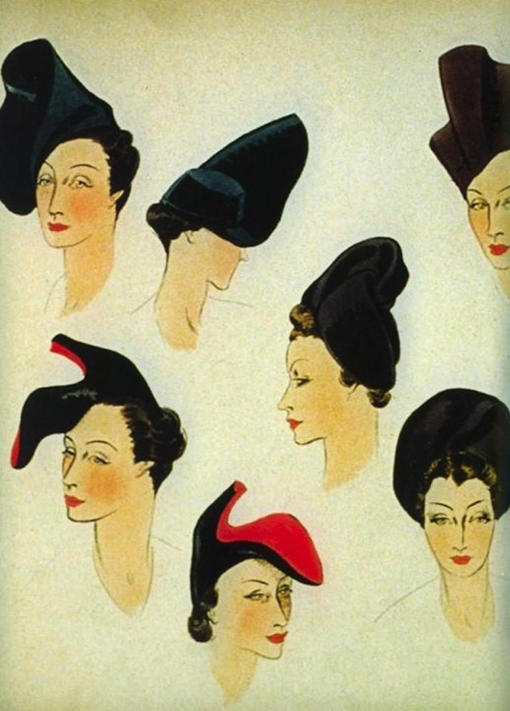 Los bocetos del trabajo de Schiarelli son un tesoro para la historia de la moda. (Foto: thecoincidentdandy)