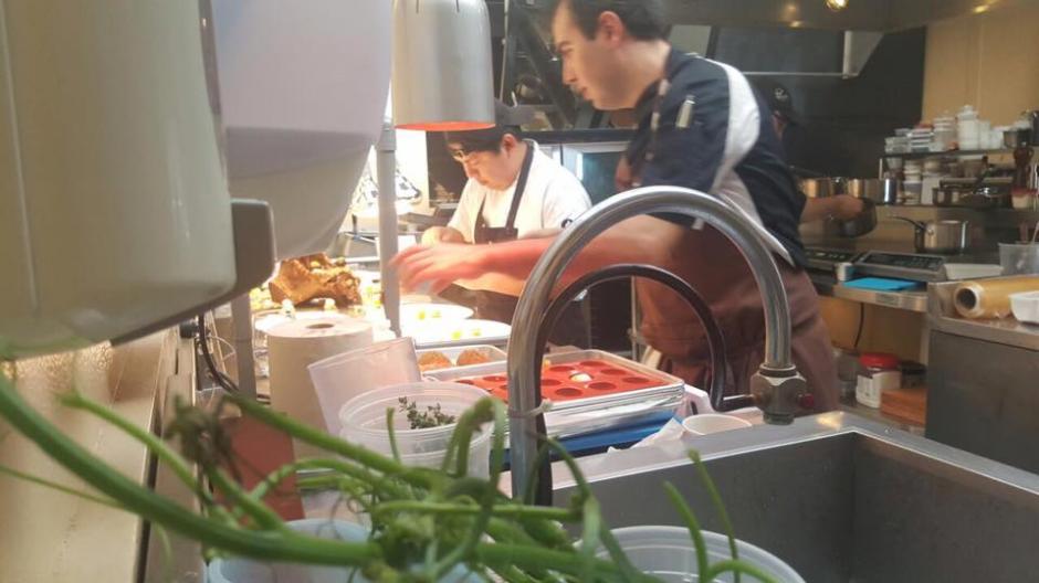 Los chefs se prepararon casi un año para el evento. (Foto: Chef mario Campollo)