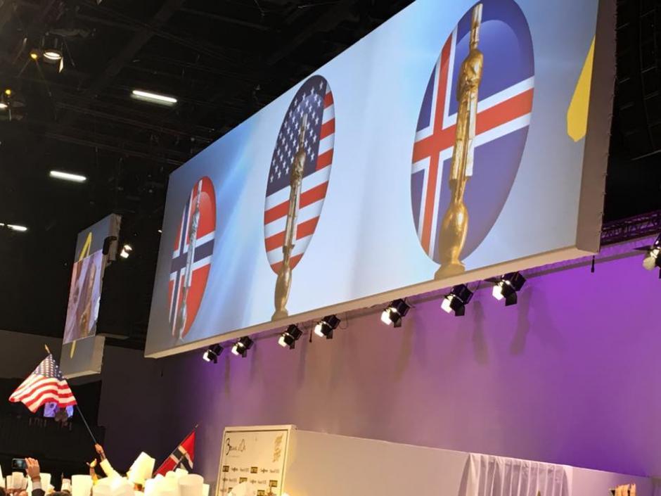 Ellos son los países ganadores. (Foto: Bocuse Dor)