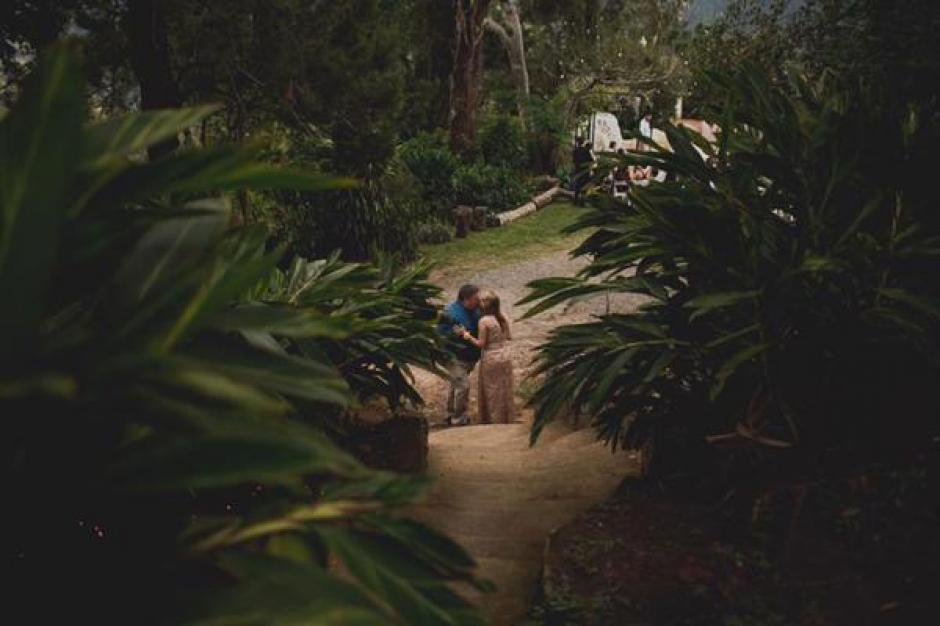 Tim junto a su esposa Jeni momentos antes de morir de un paro cardíaco. (Foto: www.infobae.com)
