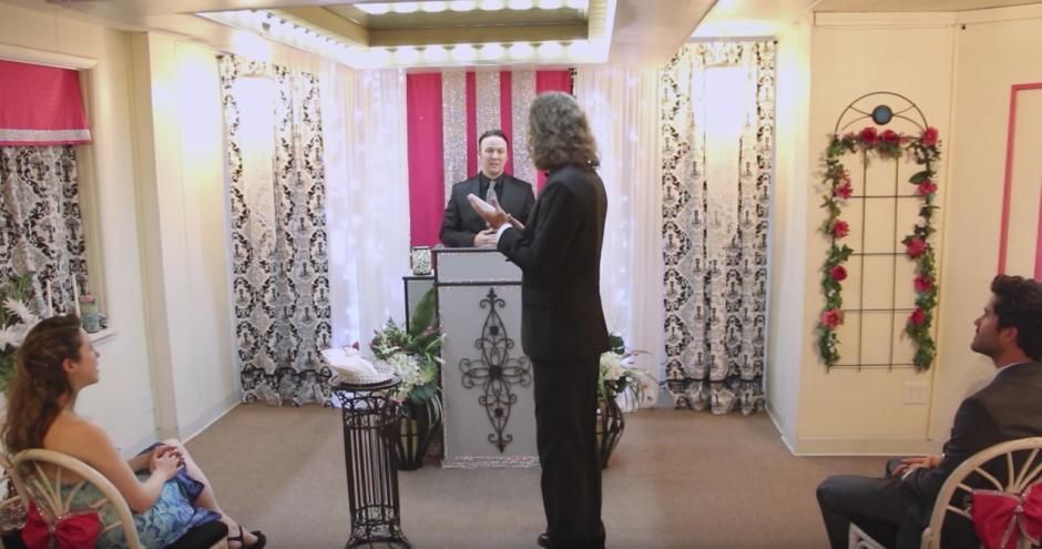 La ceremia se realizo en las Vegas. (Captura de pantalla: Kaspersky Lab UK/YouTube)