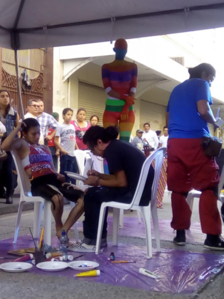 La celebración se dio sobre el Paseo de la Sexta. (Foto: Guate Cultural)