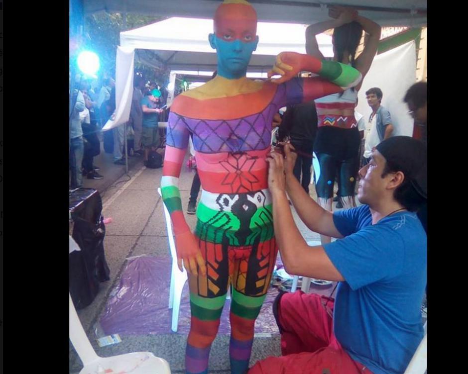 El maestro de los efectos especiales, Fernando Gálvez mostró su talento. (Foto: Ivette Money)